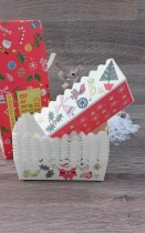 Mini Cake Cases Christmas