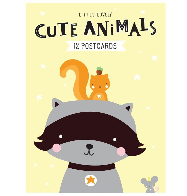 Set de Postales Cute Animals