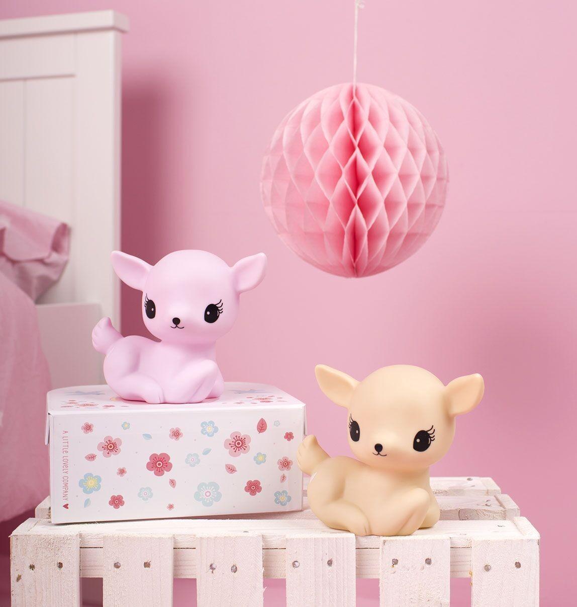Lámpara Baby Deer Rosa