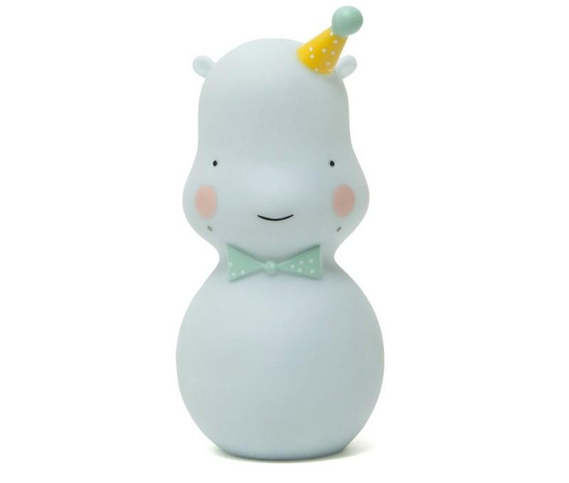 Lámpara Happy Hippo Azul
