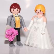 Novios Playmobil Cake Toppers