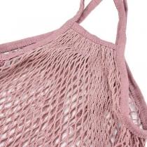 Bolsa de Malla estilo Francés Rosa