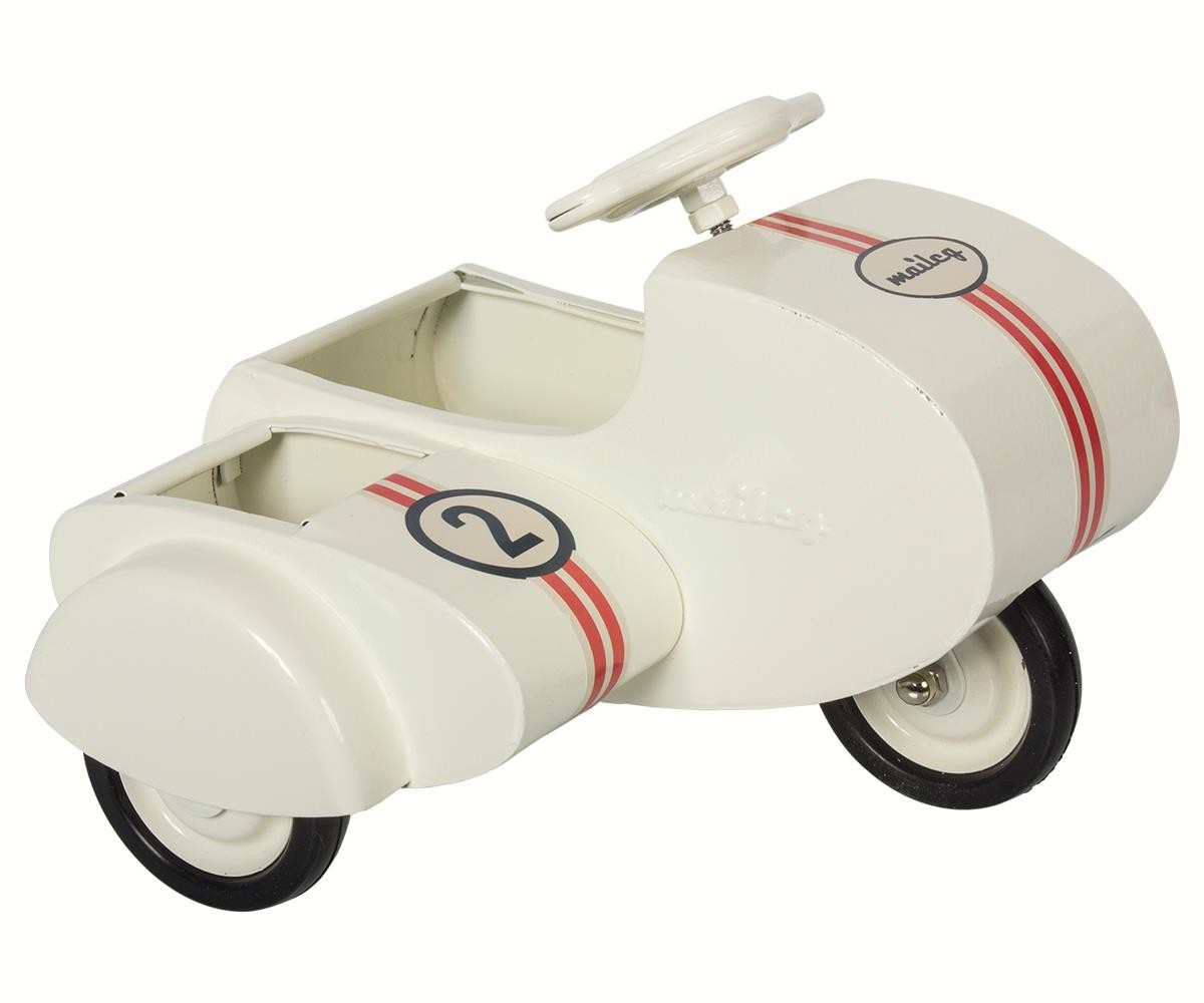 Scooter con Sidecar Blanco