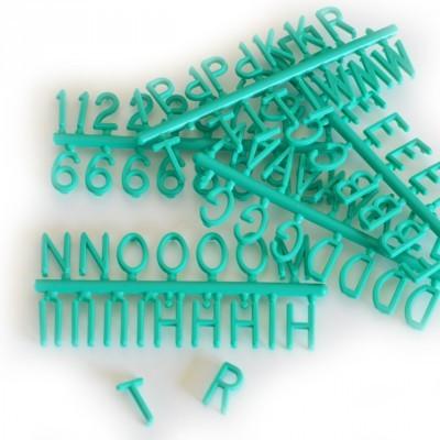 Letras Verdes para Letter Board
