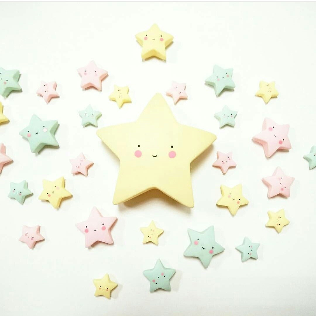 Figuritas Mini Estrellas Amarillas