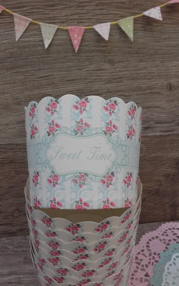 Molde Cupcake Rose Garden