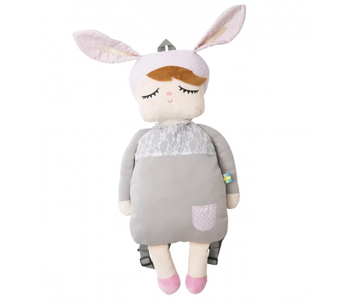 Mochila Little Bunny Gris