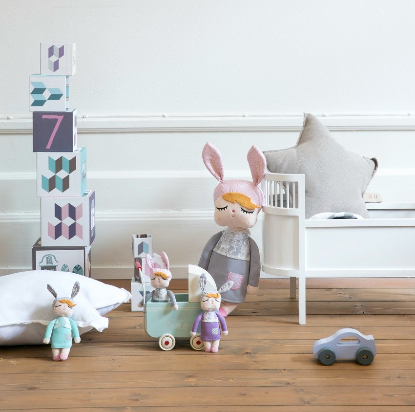 Muñeca MINI Little Bunny Mint 12cm