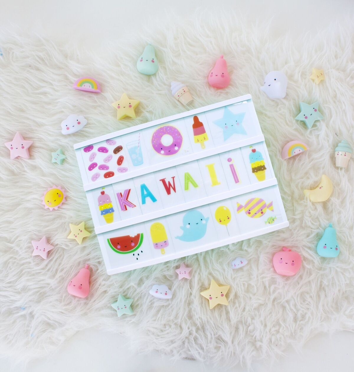 Set de Ilustraciones Kawaii