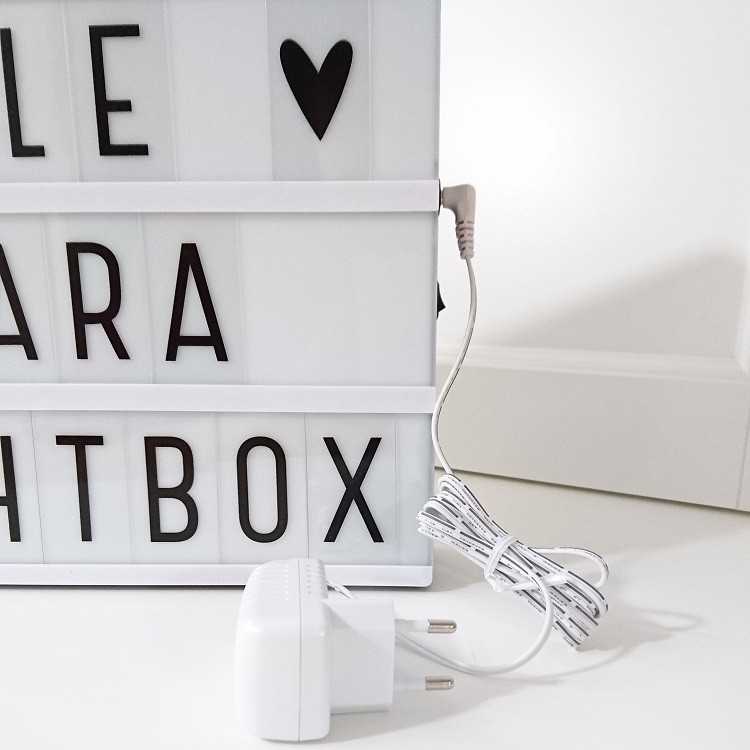 Adaptador Lightbox Blanco