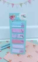 Memo Pad Romantic Shabby Mint