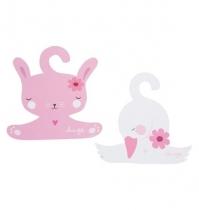 Perchas Conejo & Cisne