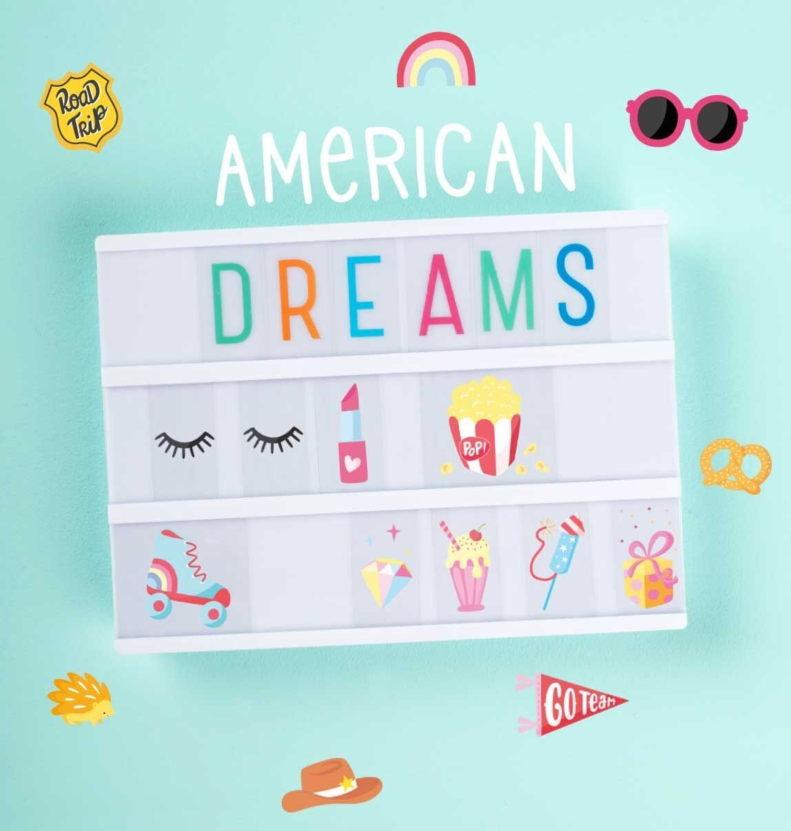 Set de Ilustraciones American Dreams