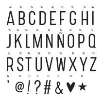 Set de Letras Básico