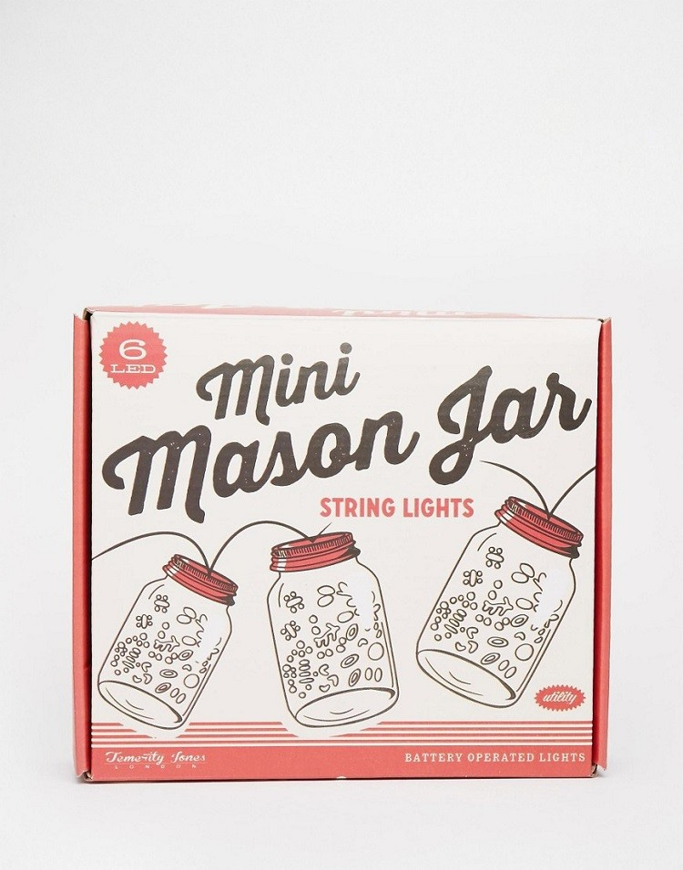 Guirnalda Led Mini Mason Jar