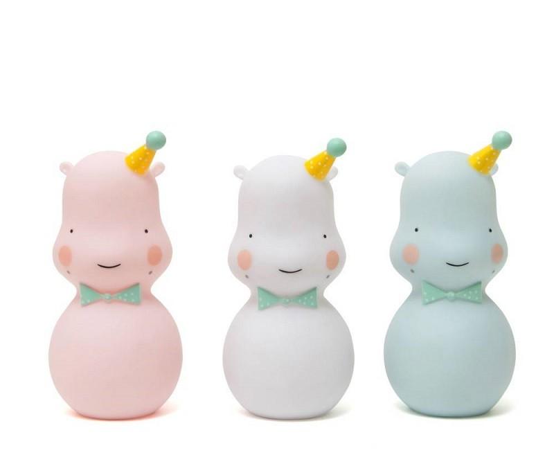 Lámpara Happy Hippo Blanca