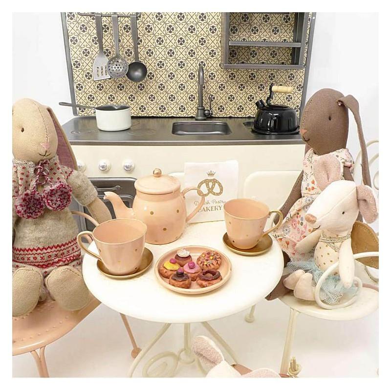 Juego de Té y Pastas