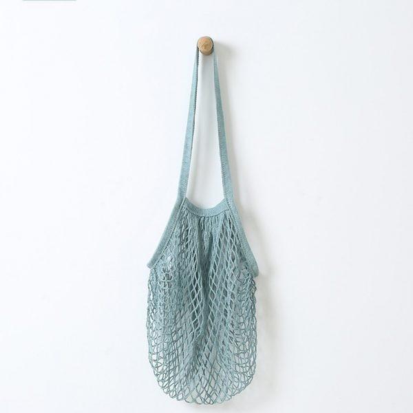 Bolsa de Malla estilo Francés Azul