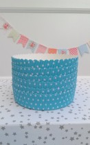Mini Molde Bizcocho Dots Blue