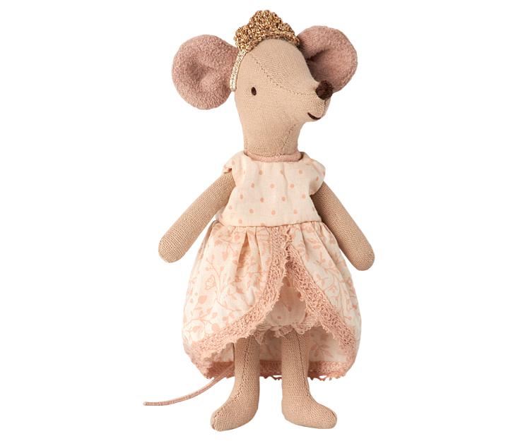 Vestidito de Princesa Rosa para Ratoncita