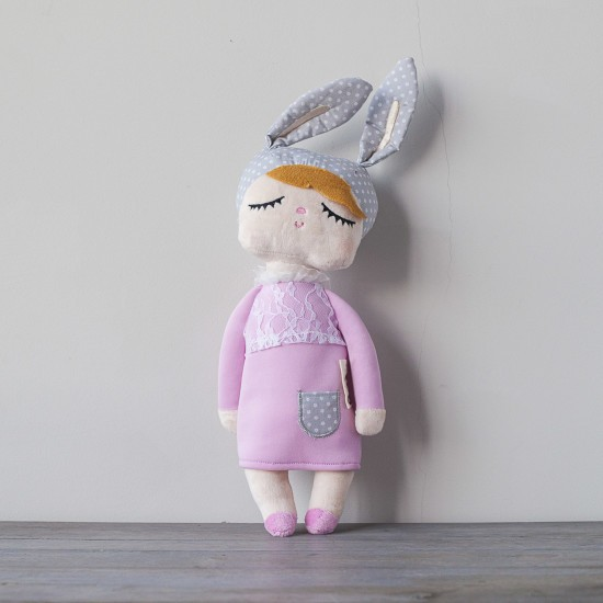 Muñeca Little Bunny Rosa 42cm