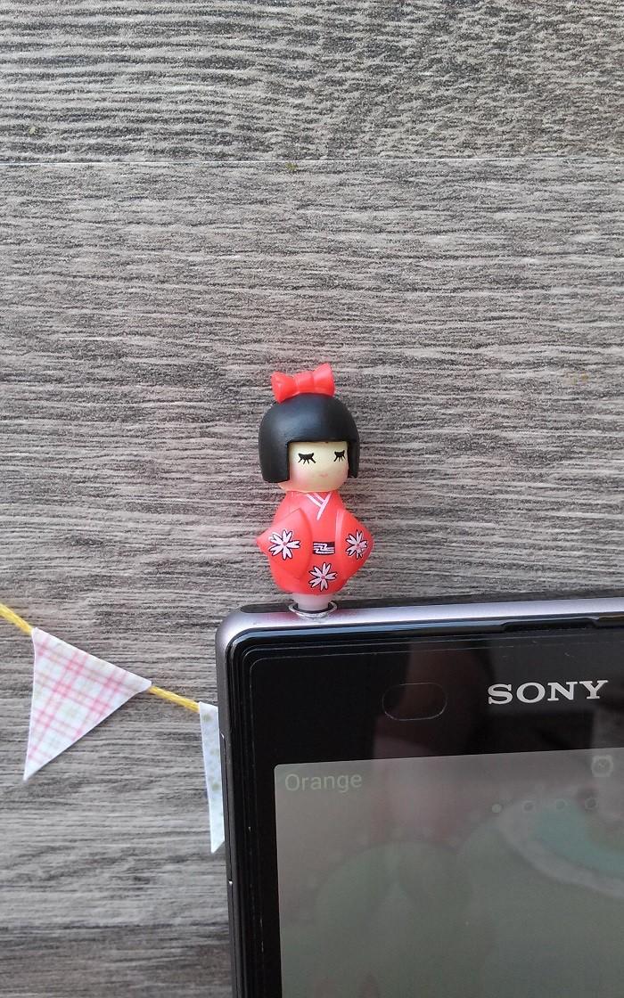 Tapón Móvil Geisha Rojo