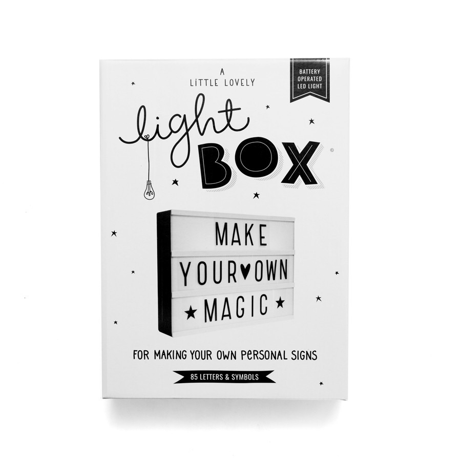 Lightbox A4 Black