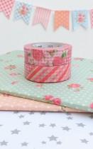 Masking Tape Rose Garden