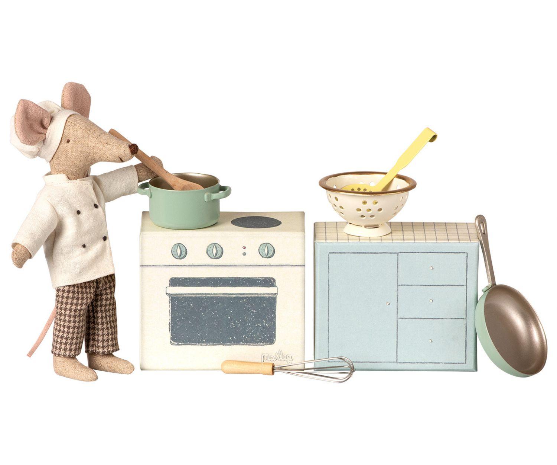 Set de Cocina con Utensilios