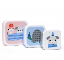 Set de 3 Fiambreras Peanut & Co