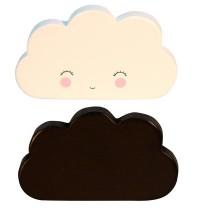 Bloques de Madera con forma de Nubes