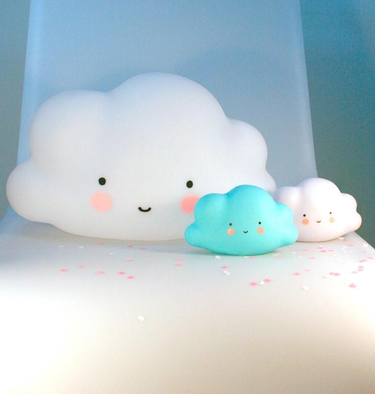Lámpara Nube Azul