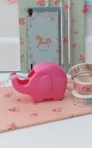 Porta Washi Tape Elephant Pink