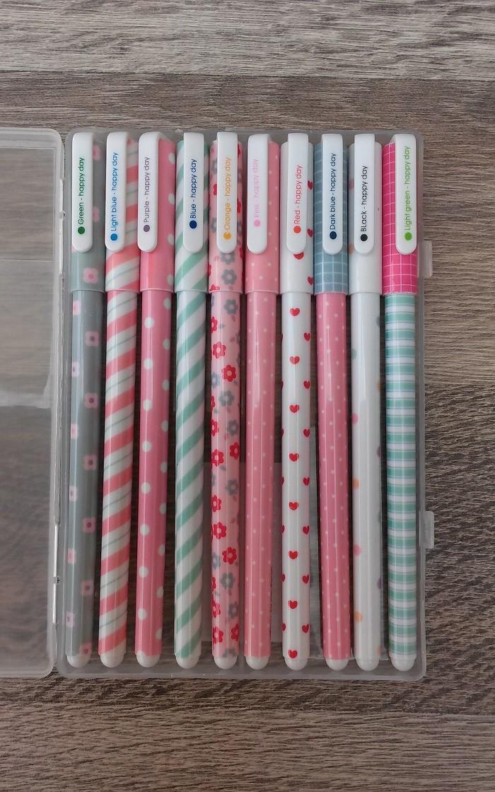 Set 10 Bolígrafos Vintage