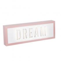 Caja de Luz Dream Rosa