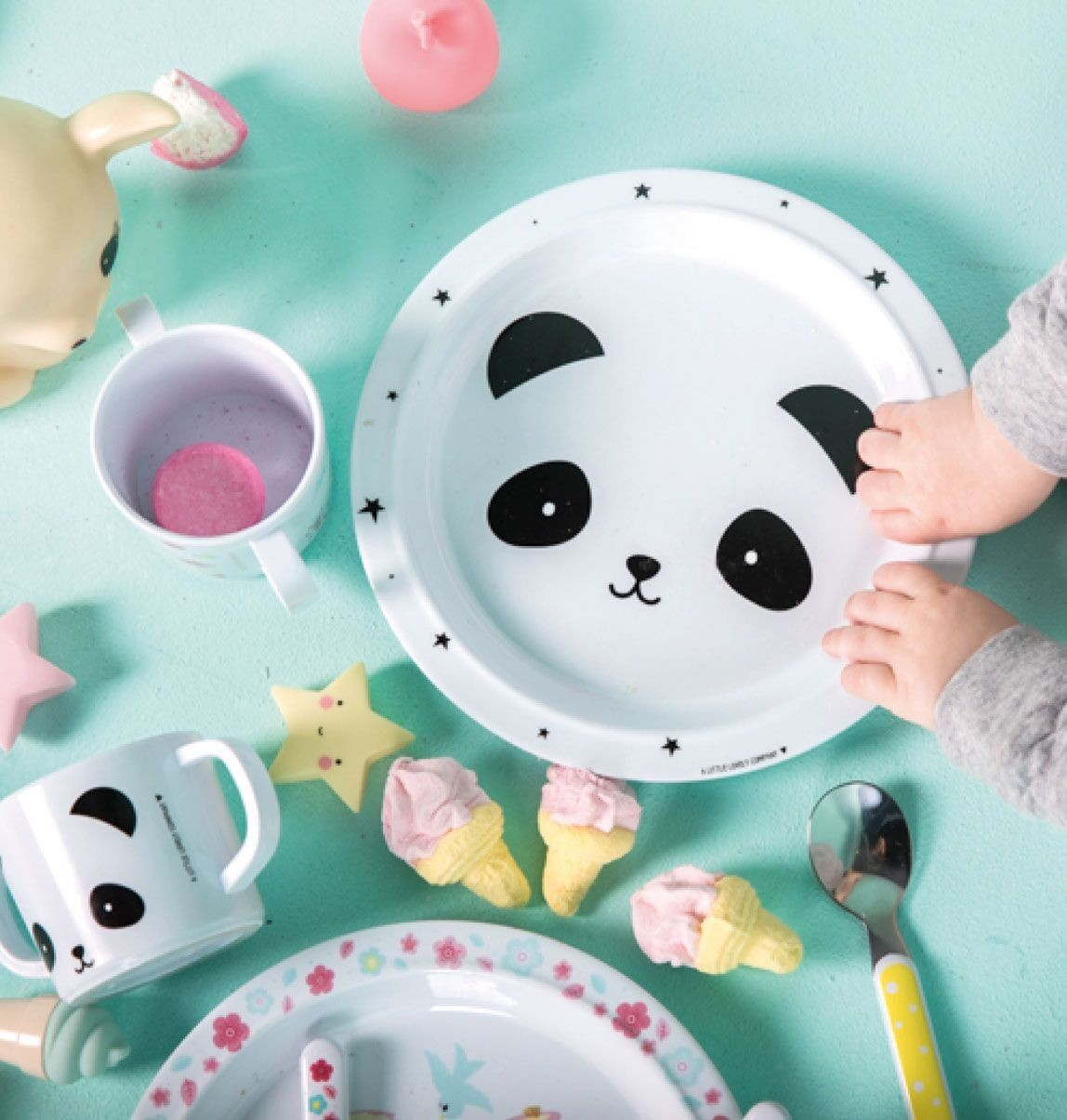Mi Primera Vajilla Panda