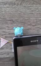Tapón Móvil Ratita Azul
