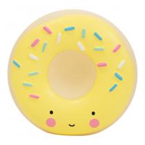 Hucha Donut Amarillo