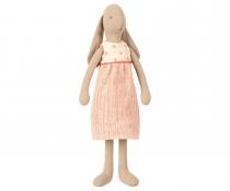 Conejita Bunny Vestido Beig y Rojo ( Talla 3 )