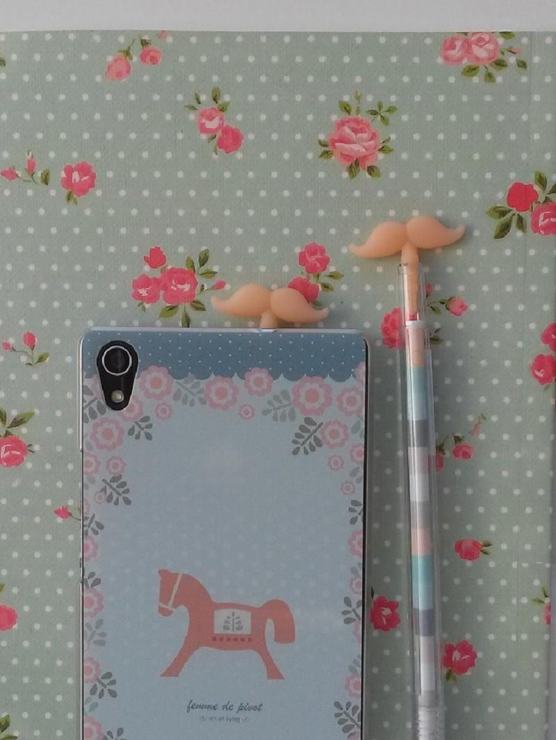 Bolígrafo Moustache Peach
