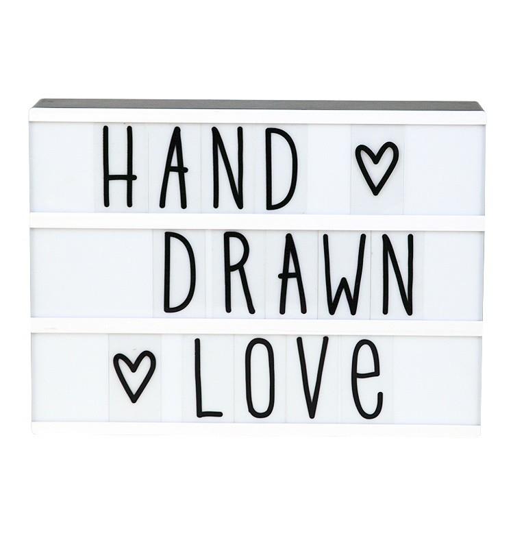 Set de Letras Hand Drawn